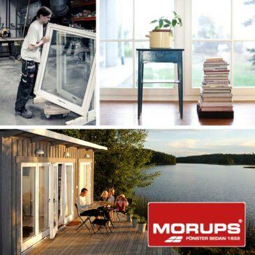 Fönsterbyten för Morups fönster